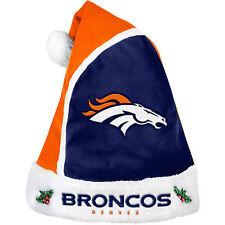 Denver Broncos Santa Hat Forever Collectibles NFL 2015