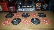 Jack Daniel's Gentleman Jack 10 x Bar Mats - Useful and Rare - V cool!