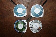 PSP UMD ENTOURAGE SEASON 1 TWISTED METAL AND PUFF PUFF PASS TOUR DISCS