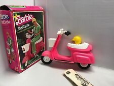 Vintage 1978 Mattel BARBIE STAR CYCLE Scooter — Includes the Original Helmet