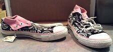 Vintage Converse Chuck Taylor All Stars Black & Pink Hi Tops Mens 8 / Womens 10