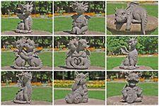 Gartenfigur Gartendrache - diverse Modelle - Fantasy Figur Deko Drache Garten