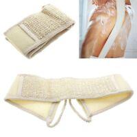 Loofah Bath Brush Exfoliating Loofa Back Strap Shower Body Scrubber Brush Sponge