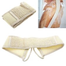 Exfoliating Loofah Loofa Back Strap Bath Shower Body Sponge Scrubber Brush New