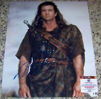 SALE - READ! Mel Gibson BRAVEHEART Signed Autographed 16x20 Photo GAI GA GV COA!