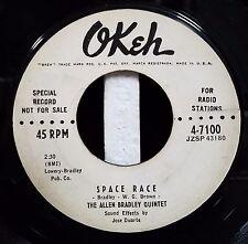 Allen Bradley Quintet / Early Rock 45 / Slow Rock / Space Race / Okeh 4-7100