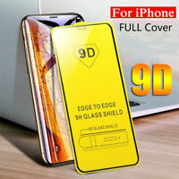 Screen Protector iPhone 12,Mini,Pro,Pro MAX 9D Curved FULL COVER TEMPERED GLASS