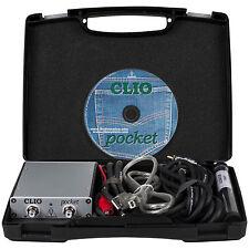 Audiomatica CLIO Pocket Personal Acoustic Measurement System