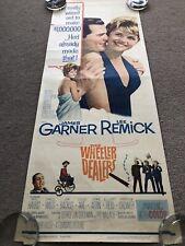 The Wheeler Dealers (1963) Original US Insert Cinema Poster