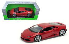 Welly 1/18 Scale Lamborghini Huracan LP610-4 Red Diecast Car Model 18049