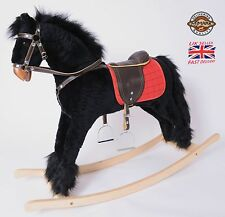 "Beautiful Handmade Brand New Rocking Horse ""Titan VII"" from MJMARK    !!!"