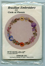 "Brazilian Embroidery ""Circle of Flowers� 1515"