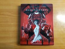 Ghost in the Shell (4K UHD/Blu-Ray Best Buy Exclusive Steelbook) RARE!