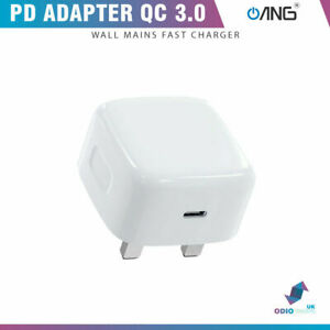 Speedy USB-C Type C UK Plug 18W Wall Charger Adapter For iPhone 11 Pro Max XS