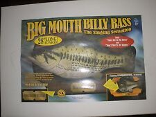 """Gemmy Huge Large 28"""" Big Mouth Billy Bass Oversized NEW IN ORIGINAL BOX"""