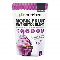Powdered Monk Fruit Sweetener with Erythritol Confectioners 1 lb / 16 oz - for &