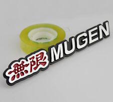 3D Metal Car Performance Emblems Decals Badge for Red Black MUGEN Racing Sports