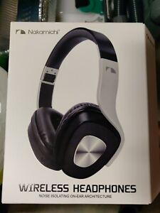 NEW SEALED NAKAMICHI BTHP06 Wireless Bluetooth Noise Isolating On-Ear Headphones