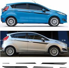 Ford Fiesta MK7 5 Door Side stripes Decals Stickers  ST Zetec RS 1.4 1.6