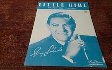 Little girl  Guy Lombardo 1948 sheet music EX