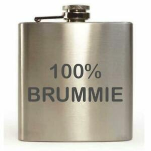' 100% Brummie ' 170ml Petaca