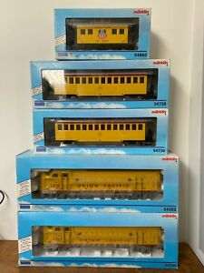 Marklin gauge 1 MAXI Diesel locomotive train set F7 Union Pacific