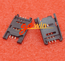 10Pcs Clamshell Sim Card Socket For Arduino Gsm /Gprs Wireless Module Sim900