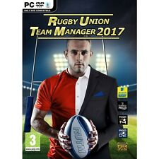 Rugby Union Team Manager 2017 (PC)  BRAND NEW AND SEALED - QUICK DISPATCH