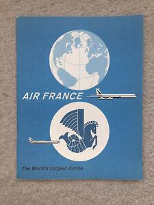 Air France - History of Air France - Brochure - 1960