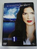 CROSSING JORDAN TEMPORADA SEASON 1 - ESPAÑOL ENGLISH + EXTRAS - 6 X DVD