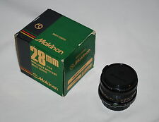 Makinon 28mm f/2.8 Automatic Multi-Coated Wide Angle Lens for Olympus