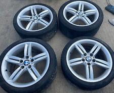 Genuine BMW 1 Series E81 E82 E87 E88 18 Inch M Sport Alloy Wheels With Tyres