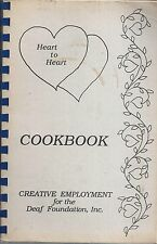 PORTLAND OR 1988 CREATIVE EMPLOYEMENT FOR THE DEAF COOK BOOK LOCAL ADS * OREGON