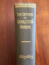 1890 Defense Charleston Harbor, Confederate-owned Medical Director, Beauregard