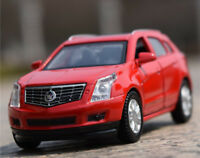 1:43 Cadillac SRX SUV Alloy Car Model Pull Back Vehicles Kids Toy --Red
