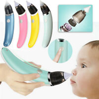 Baby Nasal Aspirator Electric Safe Hygienic Nose Cleaner Care Oral Snot Sucker S