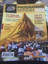 Le Tour De France 2009 Official Programme - VGC - In French