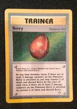 POKEMON TRAINER BERRY CARD Pokemon Tool 1995-2000 Nintendo Creatures GAMEFREAK