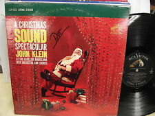 CHRISTMAS SOUND SPECTACULAR LIVING STEREO RCA Victor LSP-2023 JOHN KLEIN