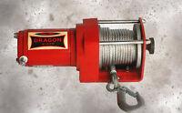 Elektrische Seilwinde 1133kg 12 V ATV Quad Winde 12V Fernbedienung Funk 2500lbs