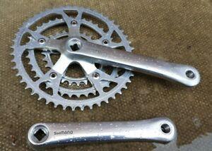 Shimano Deore XT M730 Biopace Triple Chainset FC-M730 175mm cranks