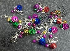 TYPE 1 ~ SECURITY ANTI-THEFT JINGLE BELLS~HANDBAG~WALLET~PURSE~PURSE~CATS-DOGS