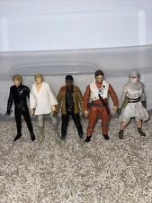 Star Wars Black Series Lot 6 In Luke Skywalker Walmart Exclusive + Rey Poe Finn