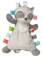 "Mary Meyer Taggies Harley Raccoon Lovey 12"" Soft Blanket Plush Baby Toy w/ Tags"