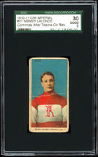 1910-11 C56 Imperial Tobacco #37 Newsy Lalonde SGC 30 RARE! ONLY 5 KNOWN!