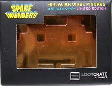 Space Invaders LE Orange Mini Alien Vinyl Figure - 2015 Loot Crate / TAITO