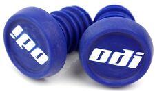 ODI Push-In Bike Handlebar End Plugs / Caps fits Flanged Flangeless Grips 1-Pair