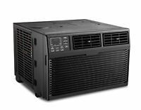TCL 8000 BTU 3-Speed Window Air Conditioner with Remote Control - Black
