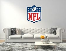 NFL Logo Football Wall Decal Vinyl Sticker For Room Home Car