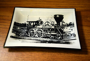 """MONON ROUTE RAILROAD DISH Given to RR Employees  6 3/4 x 4 3/4"""""""